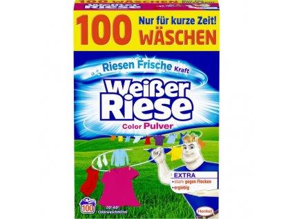 prasok na pranie weisser riese na farebne pradlo 5 5 kg 100 prani
