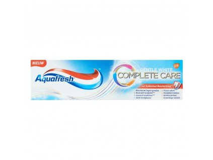 zubna pasta aquafresh gentle white complete care 75 ml