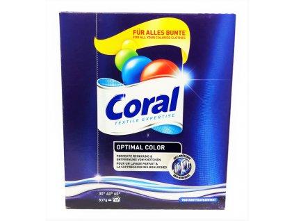 prasok na pranie coral optimal color 837 g 18 prani