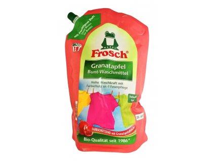 bio gel na pranie frosch color granatove jablko 1 8 l 18 prani