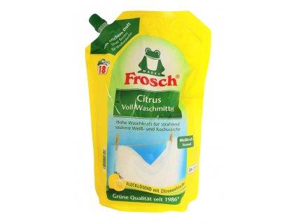 bio gel na pranie frosch citrus 1 8 l 18 prani