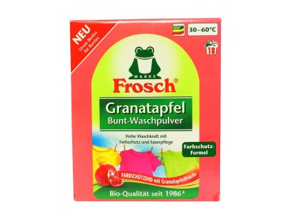 bio prasok na pranie frosch color granatove jablko 1 35 kg 18 prani