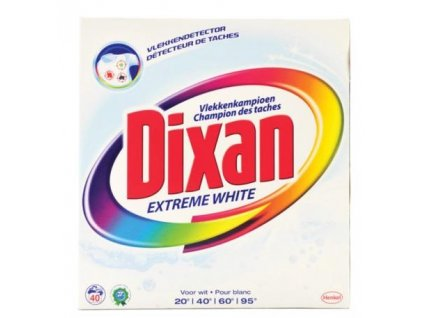 prasok na pranie dixan extreme white 5 2 6 kg 40 prani