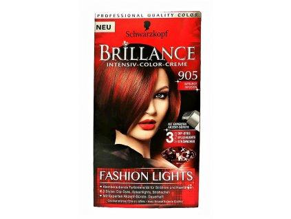 farba na vlasy schwarzkopf brillance infracervene infuzie c 905