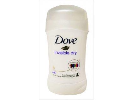 dove damsky tuhy antiperspirant invisible dry 40 ml