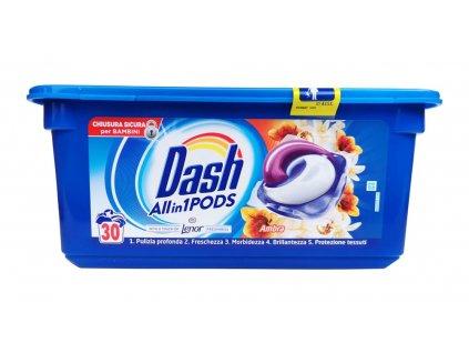 kapsule na pranie dash 3 v 1 ambra 30 ks