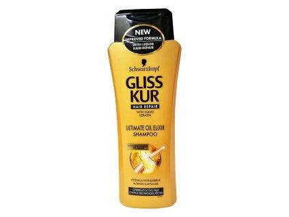 gliss kur ultimate oil elixir damsky sampon na vlasy 250 ml