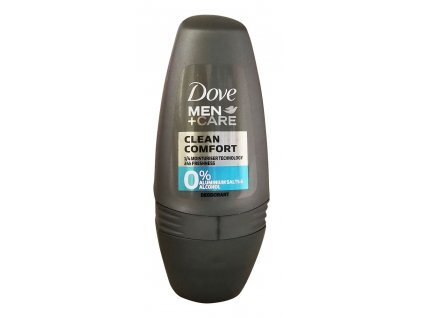 dove men care deodorant clean comfort roll on 50 ml