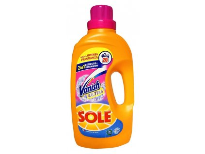 gel na pranie sole 2 in 1 vanish ultra 1 3 l 20 prani