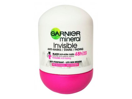 garnier mineral invisible damsky anti perspirat roll on 50 ml