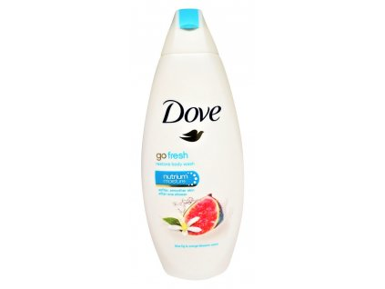 sprchovy gel dove go fresh blue fig orange blossom scent 250 ml