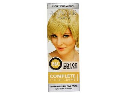 annyer profesionalna farba na vlasy eb100 svetlo zlaty blond
