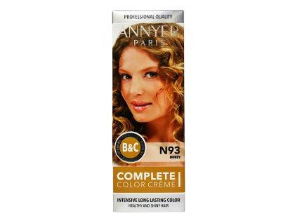 annyer profesionalna farba na vlasy n93 medova
