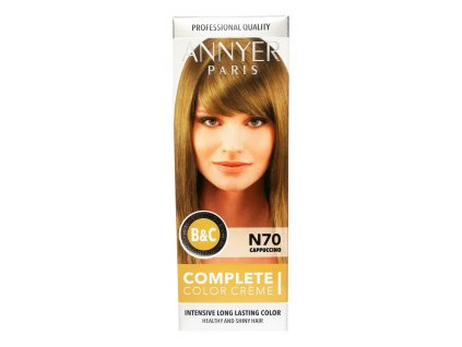 annyer profesionalna farba na vlasy n70 cappuccino