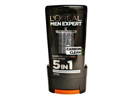 l oreal pansky sprchovy gel men expert carbon clean 5v1 300 ml