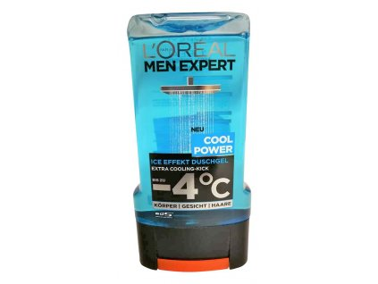 l oreal pansky sprchovy gel men expert cool power 300 ml