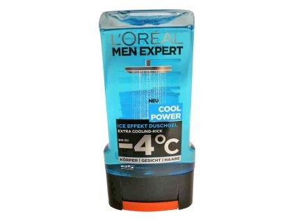 l oreal pansky sprchovy gel men expert cool power 300 ml