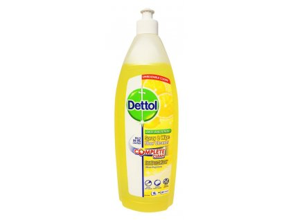 dettol antibakterial na podlahy complete clean citron 1 0 l 1