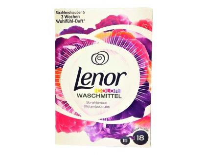 Prášok na pranie Lenor color Blutenbouquet 1,17 kg 18 praní