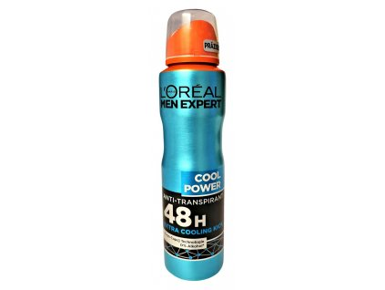 l oreal men expert anti transpirant cool power 150 ml