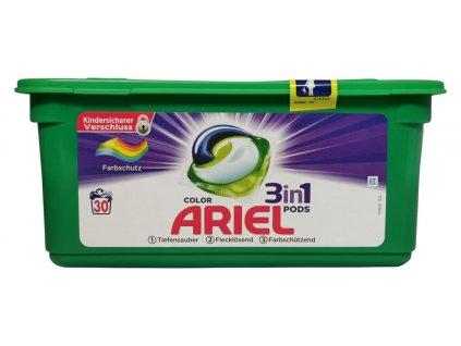 kapsule na pranie ariel 3 v 1 color style 30ks