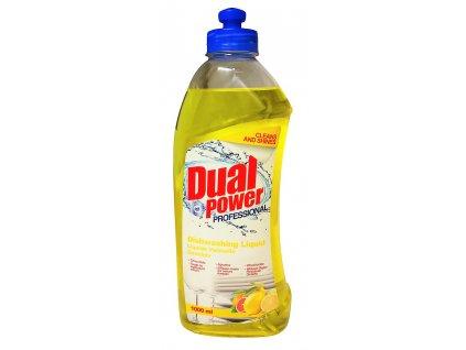 cistiaci prostriedok na rucne umyvanie riadu dual power citrus 1 l