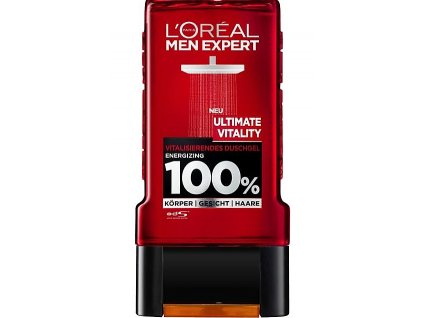 l oreal men pansky sprchovy gel ultimate vitality 300 ml
