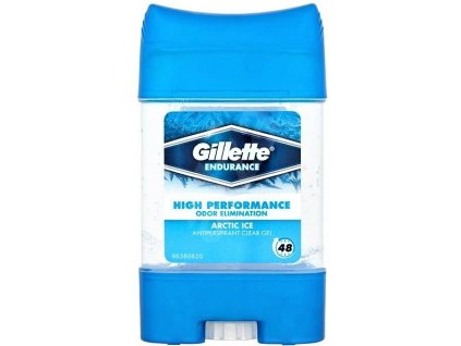pansky antiperspirant gillette clear gel arctic ice 70 ml