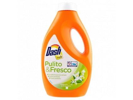gel na pranie dash simply pulito fresco magnolia aloe vera 0 99 l 18 prani