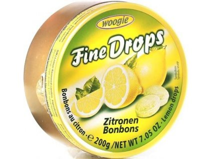 cukriky woogie fine drops citron v plechovej doze 3 200 g