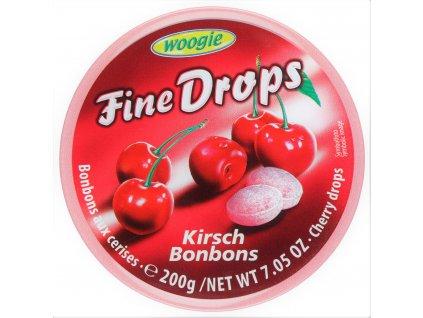 cukriky woogie fine drops ceresna v plechovej doze 200 g
