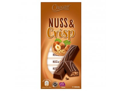 coko tycinky nuss crisp choceur 11 ks 200 g