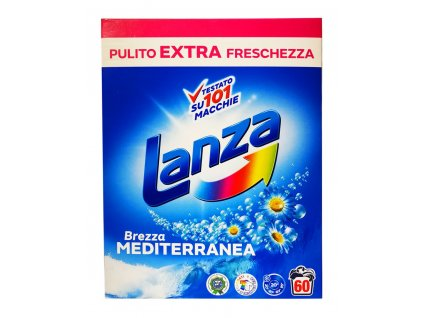 prasok na pranie lanza brezza mediterranea 3 75 kg 60 prani