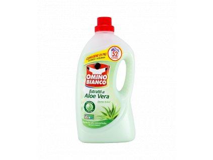 gel na pranie omino bianco estratti di aloe vera 2 6 l 52 prani