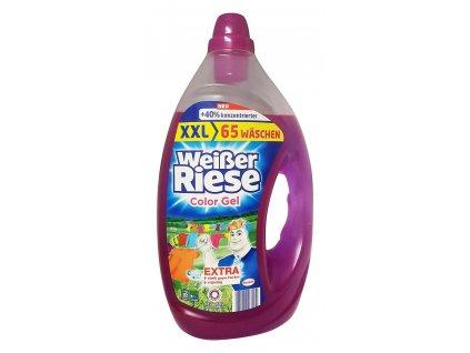 gel na pranie weisser riese na farebne pradlo 3 25 l 65 prani