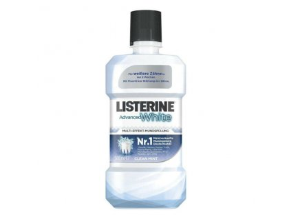 ustna voda listerine advanced white 500 ml