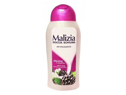 damsky sprchovy gel malizia blackberry a musk 300 ml