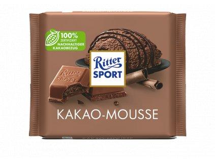 ritter sport kakao mousse mliecna cokolada s kakovym kremom 100 g