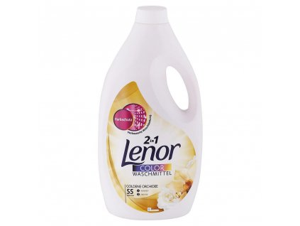 gel na pranie lenor color 2 v 1 golden orchidea 3 025 l 55 prani