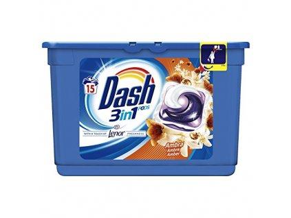kapsule na pranie dash 3 n 1 ambra 15 ks