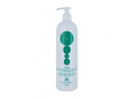 sampon na vlasy kallos kjmt deep shampoo na mastne vlasy 1 l