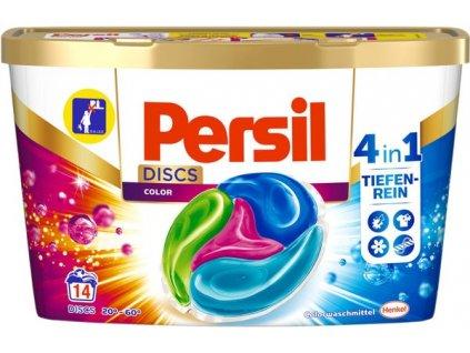 kapsule na pranie persil discs color 4 v 1 14 ks