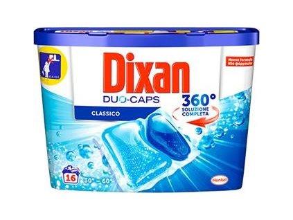 kapsule na pranie dixan duo caps classico 16 ks