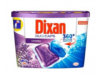 kapsule na pranie dixan duo caps lavanda 16 ks