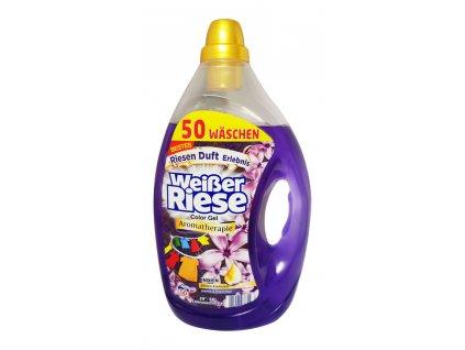 gel na pranie weisser riese color aromatherapie jasmin rosenholz 2 5 l 50 prani