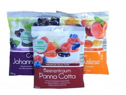 Premium selection želé cukríky - 250 g