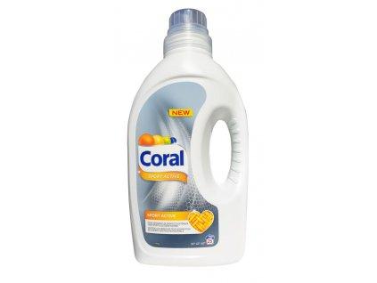 gel na pranie coral sport aktiv 1 375 l 25 prani 2