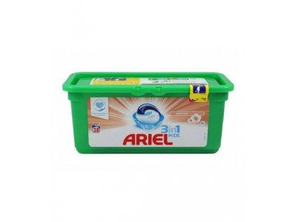 kapsule na pranie ariel 3 in 1 sensitive 28 ks