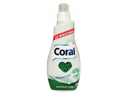 gel na pranie coral sensitive color 1 4 l 20 prani