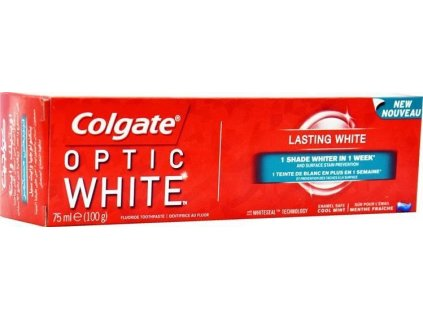zubna pasta colgate optic white lasting white 75 ml